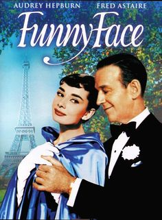"Audrey Hepburn and Fred Astaire in ""Funny Face"", music by Cole Porter"
