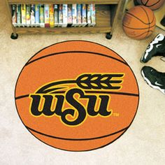Make the power shot with the Wichita State Shockers Basketball Area Rug!