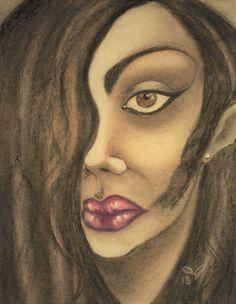 Oil Pastel Paintings, Original Paintings, Original Art, Oil Pastels, Nice Lips, Beautiful Lips, Painting Process, Woman Painting, Art Oil