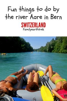 Here are some fun things you can do by the river Aare around Bern in the capital of Switzerland. Capital Of Switzerland, Visit Switzerland, Travel Guides, Travel Tips, Travel Around The World, Around The Worlds, Europe Continent, Weekend Breaks, Walkabout