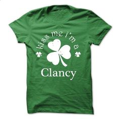 Kiss Me Im A Clancy! NEW - #tshirt projects #sweater fashion. BUY NOW => https://www.sunfrog.com/Names/Kiss-Me-Im-A-Clancy-NEW.html?68278