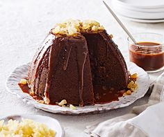 Sticky and delicious, this ginger and treacle pudding is sure to become a winter favourite