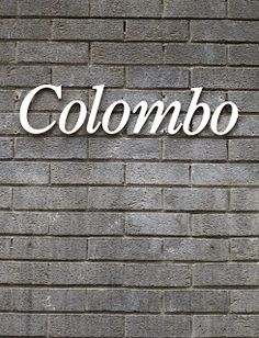 Colombo: on a building in London.