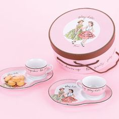 cute tea sets for two!
