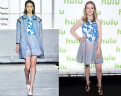 Gillian Jacobs In Tanya Taylor - Hulu's Upfront Presentation. Re-tweet and favorite it here: https://twitter.com/MyFashBlog/status/461663790069579776/photo/1