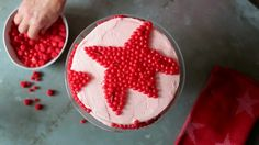 Make a birthday cake or other special day cake oh-so-adorable with candies! Cookbook author and stylist Libbie Summers shares 11 super-simple ways that cinnamon candies, jellybeans, maltballs, and other sweet favorites can make you look like a professional cake decorator in minutes./