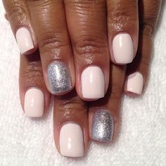 This color looks so fresh and crisp on her nails we decided to...