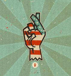 Revolution by Steve Simpson, via Behance
