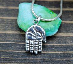 Sterling Silver Buddha Hand Pendant