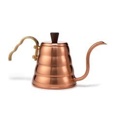 Hario Copper Pour Over Kettle, a beautiful kettle that ups our tea game