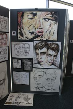Student Display Pieces for Advanced 2 and Independent Study Sketchbook Layout, Gcse Art Sketchbook, Sketchbooks, Sketching, Basic Drawing, Life Drawing, A Level Art Final Piece, Art Alevel, Ap Studio Art