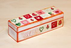 Decoupage Box Jewelry Box Decoupaged Art Trinket by BeauMiracle, $19.00