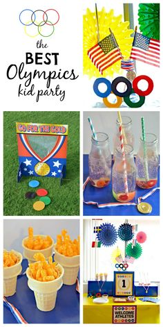 How to throw an Olympics Party for Kids! - | The Shopping MamaThe Shopping Mama