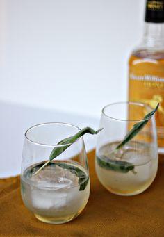 Honey Sage Whiskey Elixir
