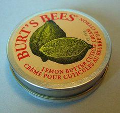 #Testbericht Nagelhautpflege:  Burt's Bees Lemon Butter Cuticle Cream für extrem trockene Nagelhaut. Wirkt es?