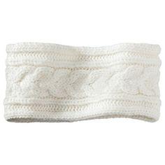 Merona® Winter Headband - Ivory