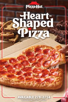Looking for an easy Valentine's dinner for two? Heart-Shaped Pizza is where it's at. Available starting 2/8. Friendly disclaimer: we bake hearts, not break them—pizza arrives uncut. Nascar Memes, Esthetics Room, Heart Shaped Pizza, Quinceanera Themes, Valentine Party, Feeling Hungry, Dinner For Two, 15th Birthday, Pizza Hut