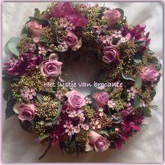 Homemade wreath.......