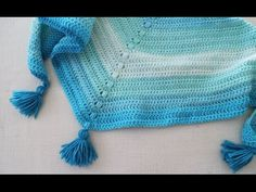 How to Crochet: Crochet Textured Wave Stitch Tutorial - YouTube