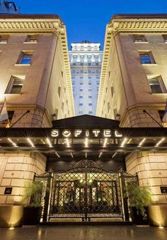 Set in a 1920s Art Deco skyscraper just blocks away from the heart of chic Recoleta, Sofitel Buenos Aires is the place to stay for easy access to modern shops along century-old cobblestone streets. Truly feel like a VIP when you book with Travel with Terra and get these Exclusive Terra Perks **Full Buffet Breakfast for each guest daily at LE SUD & Wine Flight Tasting for two at Cafe Arroyo**