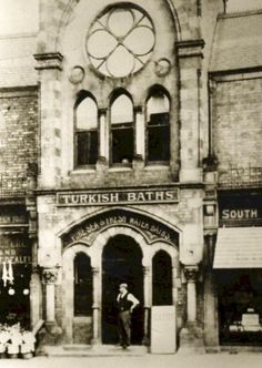 South Cliff Turkish Baths, Scarborough Old Images, Old Pictures, Old Photos, Vintage Photos, Scarborough England, Scarborough Castle, Northern England, South Yorkshire, Waterfront Property