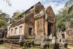 Phnom Chisor, early 11th C Angkorian Temple, Cambodia