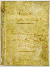 Primer Libro de Actas de la Diputación de Córdoba,  donde consta su constitución e instalación el  18 de agosto de 1813, iniciando sus sesio...