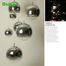 Banhado 31-40 W E27 bola tipo simples criativo moderna luminária para sala de estar sala de jantar corredores escadas 15 ~ 40 de diâmetro luz(China (Mainland))