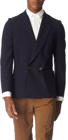 Paul Smith Double–breasted Jacket in Blue for Men (navy)