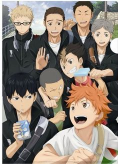 """SOMETHING IS VERY WRONG HERE. SOMEONE PLEASE TELL ME WHY YAMAGUCHI IS NOT PRESENT. KARASUNO IS MISSING A BABY BIRD, I REPEAT, KARASUNO IS MISSING A BABY BIRD! Reblog this for Mission """"Find Yamaguchi"""""""