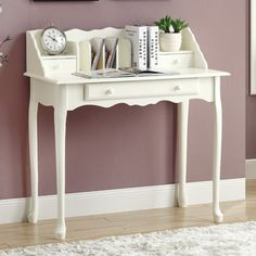 You'll love the Gagny Secretary Desk at Wayfair - Great Deals on all Office  products with Free Shipping on most stuff, even the big stuff.
