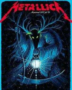 Metallica Concert, Metallica Art, Metallica Funny, Rock Bands, Rock Band Logos, Hard Rock, Woodstock, Iron Maiden Posters, Heavy Metal Art