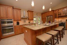 #kitchen #remodel #island #cabinets