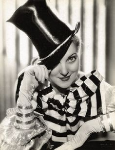 Top hat fashion, 1934.