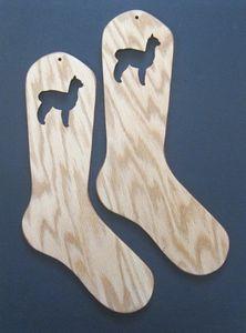 Alpaca Sock Blockers : Chappy's Arts & Crafts