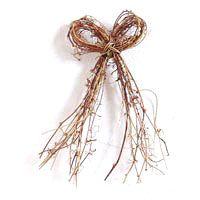12 Natural Vine Bow Wreath
