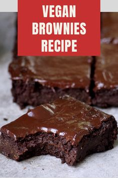 However, if you want your brownies to be a little stronger, you will need to coo. Vegan Treats, Healthy Desserts, Healthy Food, Sweet Dishes Recipes, Vegan Baking, Vegan Food, Vegan Meal Plans, Baking Tins, Brownie Recipes