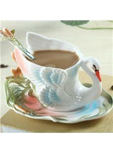 New Style Wonderful European Porcelain Enamel Coffee Mug #chic #mugs #cups #decor