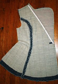 blog with tutorial for hand tailoring techniques