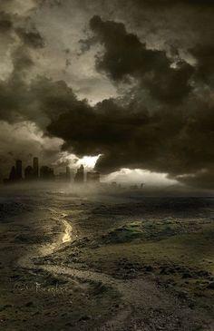 45 Stunning End of The World, Post Apocalypse Illustrations: