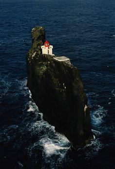 Thridranga IslandLighthouse, Iceland