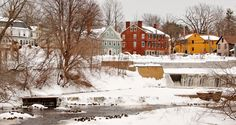 Walking Tour of Exeter, New Hampshire | Then and Now
