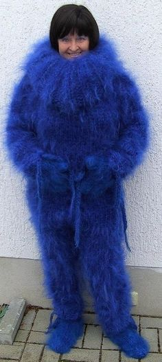 Fluffy Sweater, Mohair Sweater, Gros Pull Mohair, Fursuit, Overalls, Fur Coat, Turtle Neck, Wool, Knitting