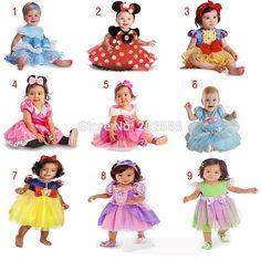 Girl Snow white Sleeping Beauty Dress Kids Cosplay Costumes Girls 2015 Kids Baby Princess Dress Perform Clothes