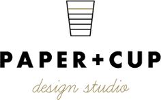 Paper and Cup Designs Wedding Invitations