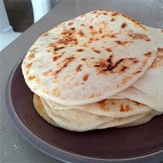 We made this pita bread tonight, it was great.  Much better warm off the griddle, but still very good cooled.