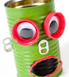 13 Awesome Robot Crafts For Kids Includes Free Printables Re Use Recycle And Have A Go At Our Easy Great Using Up Your Junk Collection
