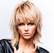 capelli biondi medio corti con frangetta - Cerca con Google