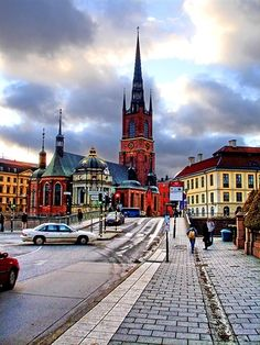 The Church of the Knights in stockholm, so beautiful #pinstockholm @Peter Thomas Thomas lyyski - Pins of Sweden