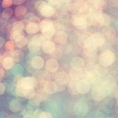 Bokeh photograph romantic pastel golden blue by dullbluelight, $18.00